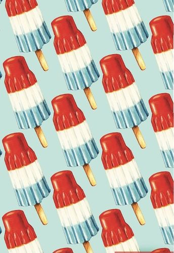 Red, White &Blue Popsicle Pattern By Kelly Gilleran